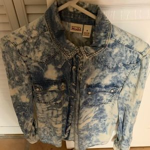 NWOT MUDD Tie-Dyed Blouse